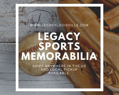 Legacy Louisville Sports Memorabilia Auction - Shipping to all 50 states!