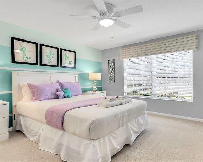 All En-suite bath 5BR Disney home w/Pool+SPA! - Windsor Hills