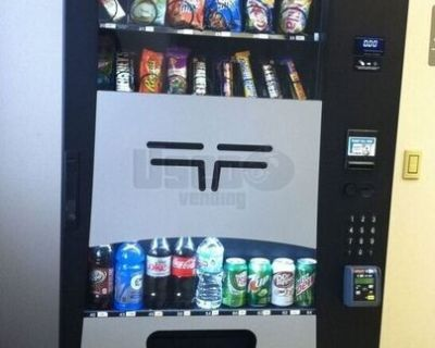 2017 Used Wittern Futura Combo Snack Soda Vending Machines