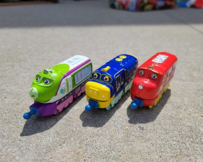 Chuggington Trains with Easter Eggs