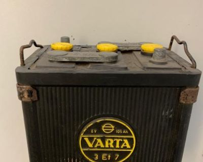 [WTB] Varta or any 6volt battery case used in 1950
