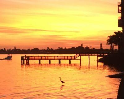 1 week minimum, waterfront, see dolphins, pool/hot tub - Isla del Sol