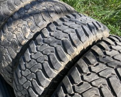 16 inch mud grip used tires LT285/75R16