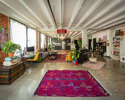 Eclectic Downtown Artist Loft + Creative Studio, Los Angeles, CA
