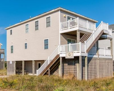 485 - South Nags Head Ocean-Side Rental with Amazing Ocean Views and ALL Master Bedrooms! - South Nags Head
