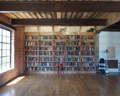 Beautiful Brooklyn Vintage Library Room, Brooklyn, NY