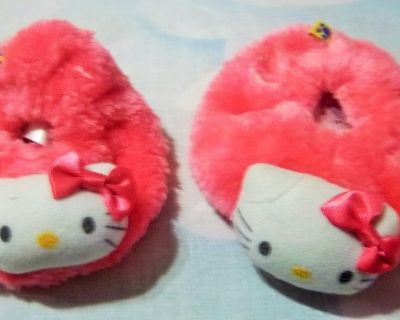 Darling new pink baby slippers