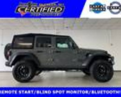 2019 Jeep Wrangler Unlimited Sport SOFT TOP 4X4!