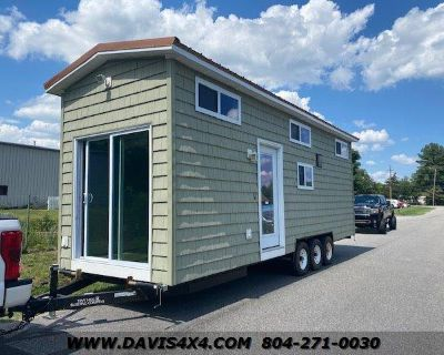 2017 AMERICAN TRAILER Fully Equipped Tiny House 28' x 8 0