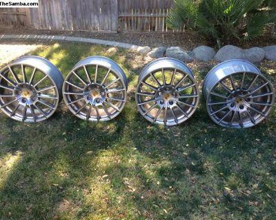 Porsche Turbo wheels