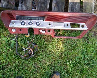1961 61 1962 62 Chevy Impala Bel Air Speedometer Cluster Instrument Dash Gauge
