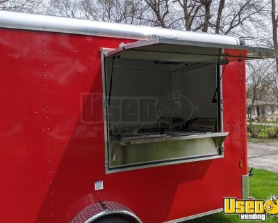 Lightly Used 2020 6' x 10' Mobile Kitchen / Food Concession Trailer