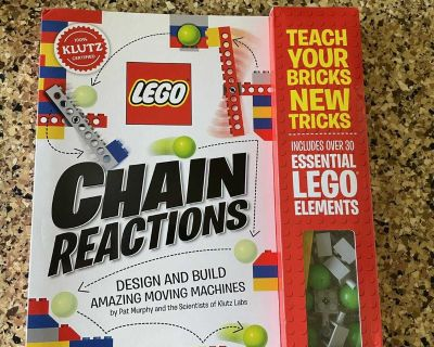 NEW Lego Chain Reactions book