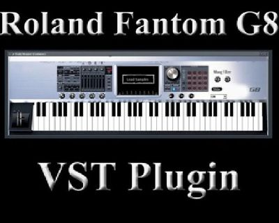 ROLAND FANTOM G8 SOUND KIT + Free Vst plugin