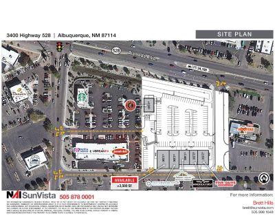 3,500 SF End-Cap Retail Space with Patio