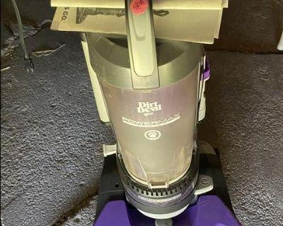 Dirt Devil Vacuum Sweeper $40
