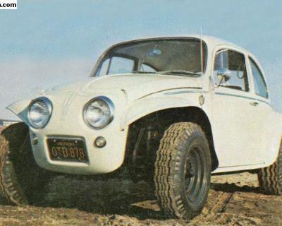 Rare Miller-Havens Baja Bug Fiberglass Kit