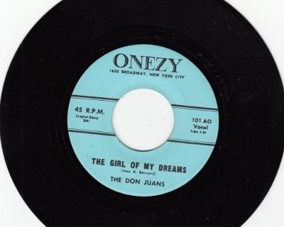 DON JUANS ~ The Girl Of My Dreams*Mint-45 !