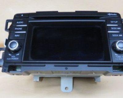2014 Mazda Cx-5 Radio Cd Player Gps Oem Radio Free Ship
