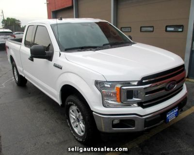 """Used 2020 Ford F-150 Supercab 157"""" 4WD XLT"""