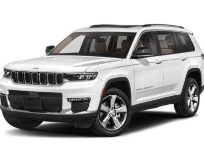 New 2021 Jeep Grand Cherokee L Altitude 4WD