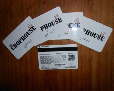 murphy's chophouse gift cards