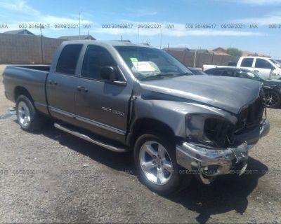 Salvage Gray 2007 Dodge Ram 1500