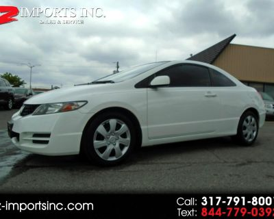 Used 2011 Honda Civic LX Coupe 5-Speed AT