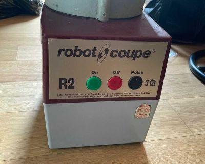 Robot Coupe R2 3Qt Food Processor