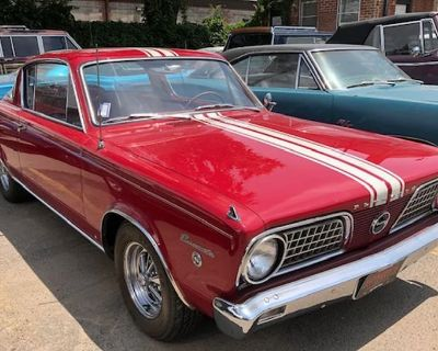 1966 Plymouth Barracuda 2 DR. Coupe