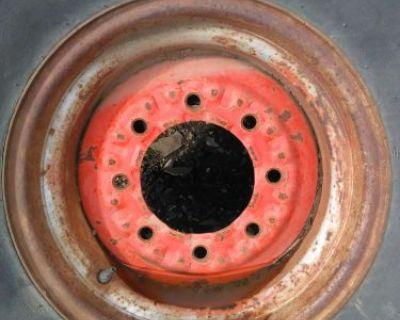 "Rare 16"" Farm Implement Tractor Trailer Wheels Please Id John Deere Ford Dodge"