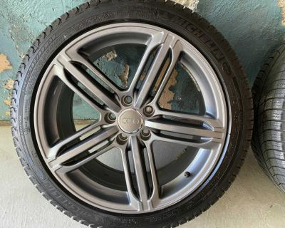 245/40/18 Michelin Winter Tires and Audi Wheels