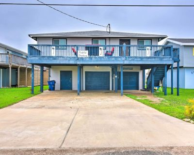 NEW! Home w/ Dock, Deck & Grill: 1 Mi to Beaches - Surfside Beach
