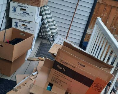 Moving boxes to give away