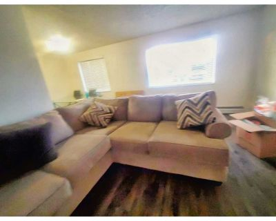 Two piece, newbsectional sofa
