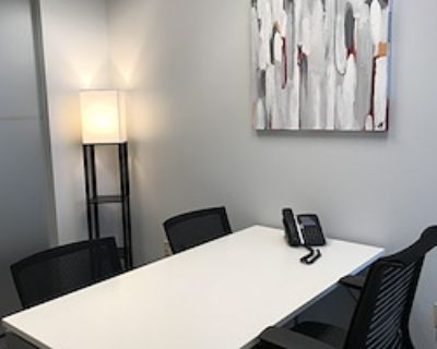 Private Office for 3 at Peachtree Offices at 1100, LLC