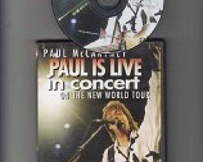 PAUL McCARTNEY ~ Paul Is Live in Concert*Mint-DVD !