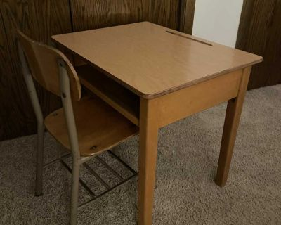 Children s desk and chair