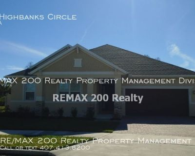 Beautiful 3/3.5 Winter Garden Home With Bonus Room / Pool and Lawn Care Included