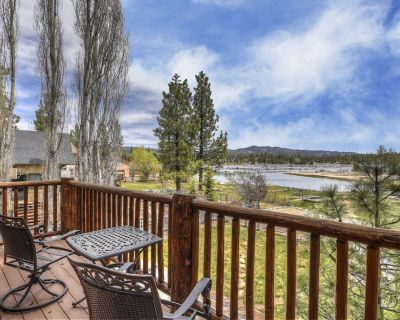 Cienega Lakeview: Spectacular Luxury Lakefront! Game Room with Pool Table! Gourmet Kitchen! - Big Bear Lake