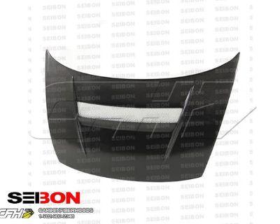 Seibon Carbon Fiber Vsii-style Carbon Fiber Hood Kit Auto Body Honda Civic 06-10
