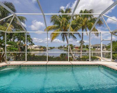Waterways Views, Heated Pool - Villa Mermaid Cove - Cape Coral, FL - Burnt Store