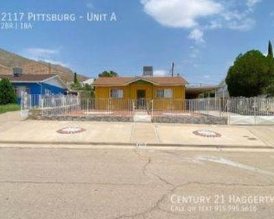 2117 Pittsburg Ave #A, El Paso, TX 79930 2 Bedroom Apartment