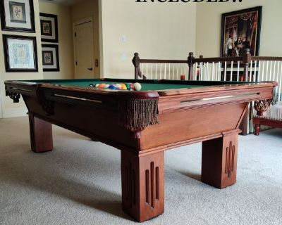 Olhausen 8' Pool Table-FREE DELIVERY, SET-UP and NEW FELT