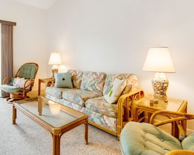 Sea Colony Delight W/ Private Deck, Shared Amenities, Full Kitchen & Free Wifi! - Bethany Beach