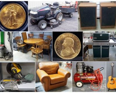 Tools, Treasures And Tidbits Combined Estate Auction