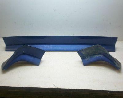 79-81 Firebird Trans Am Original Gm Rear Spoiler Wing Complete 3 Piece Set