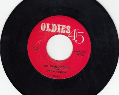 ROSCO GORDON & BAND ~ No More Doggin*Mint-45 !