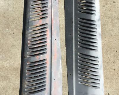 Late type 3 rear fender cooling grills