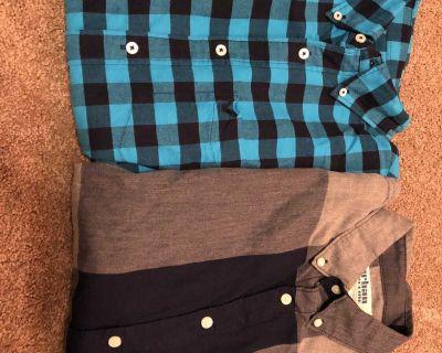 Sz Small Men s Long Sleeve light weight flannel